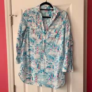 Lilly Pulitzer Tunic in Watch Out